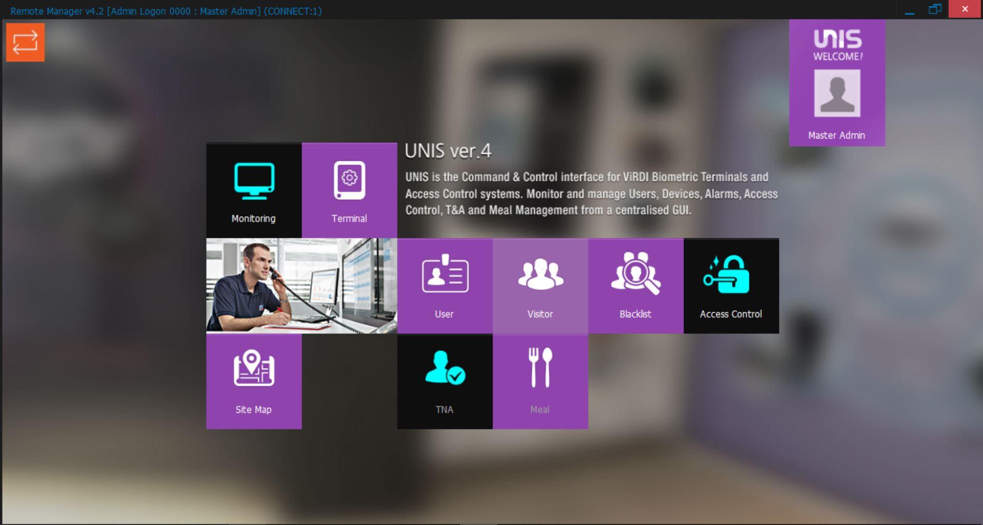 UNIS-access control