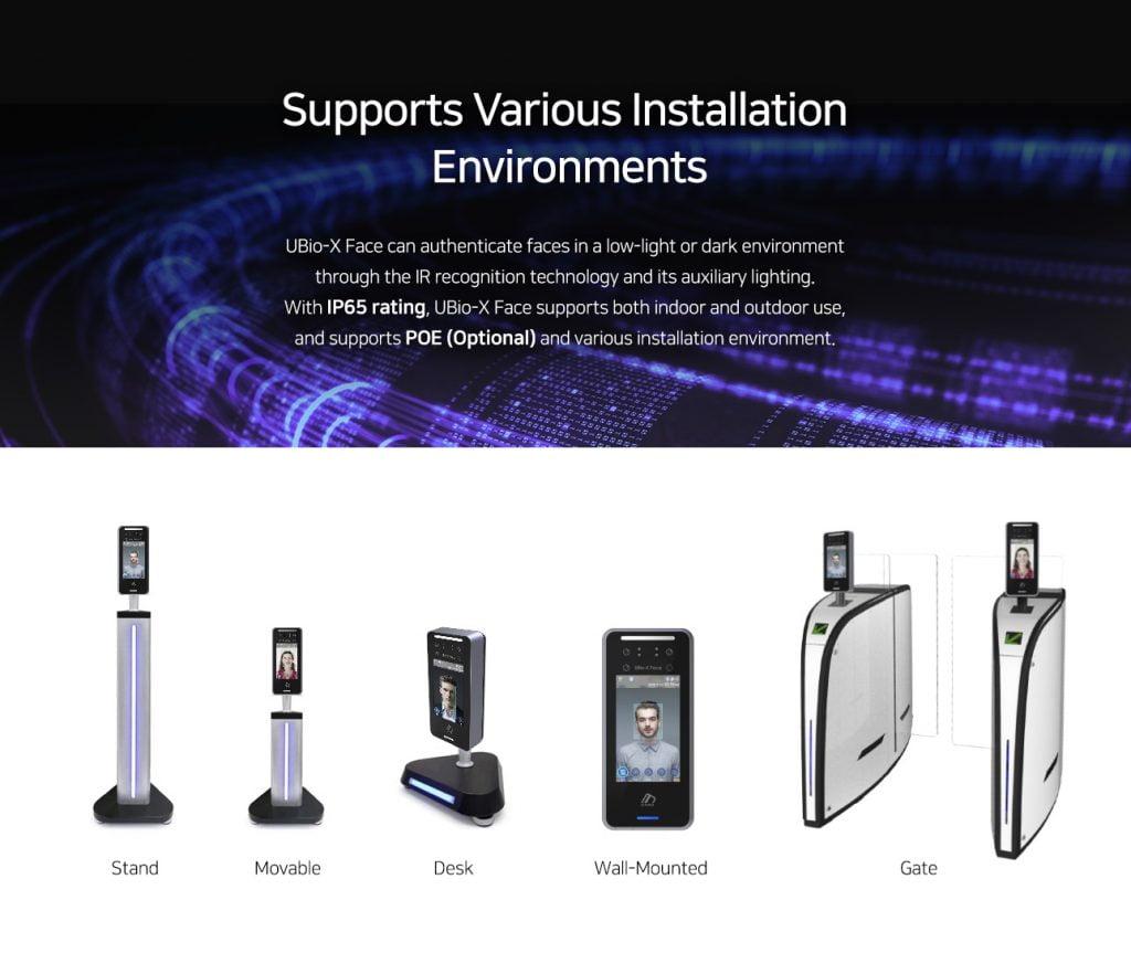 UBio-X-Face install